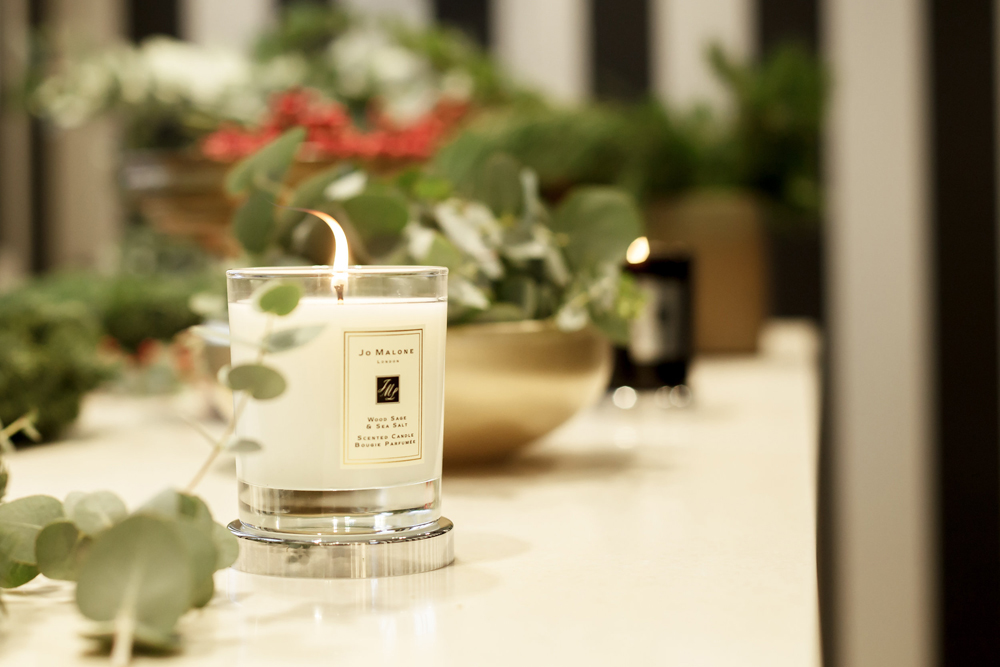 Flower crowns workshop Boutique Jo Malone London